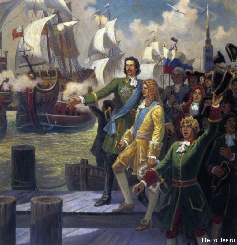 Зарождение Азовского флота