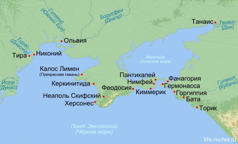 Города-колонии Греции