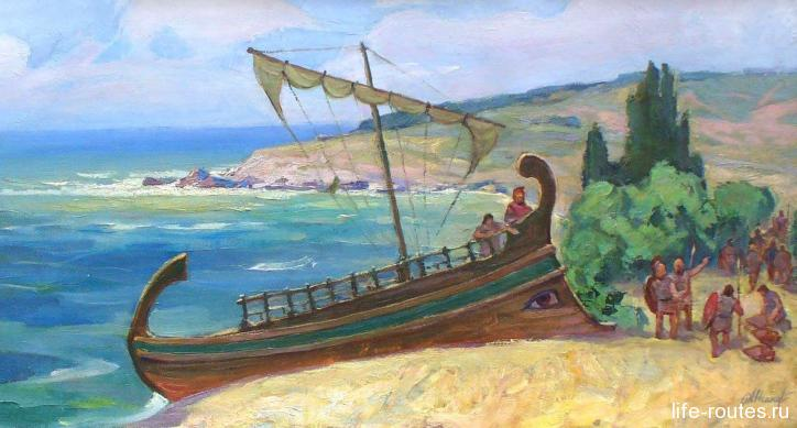 Греки на берегах Танаиса