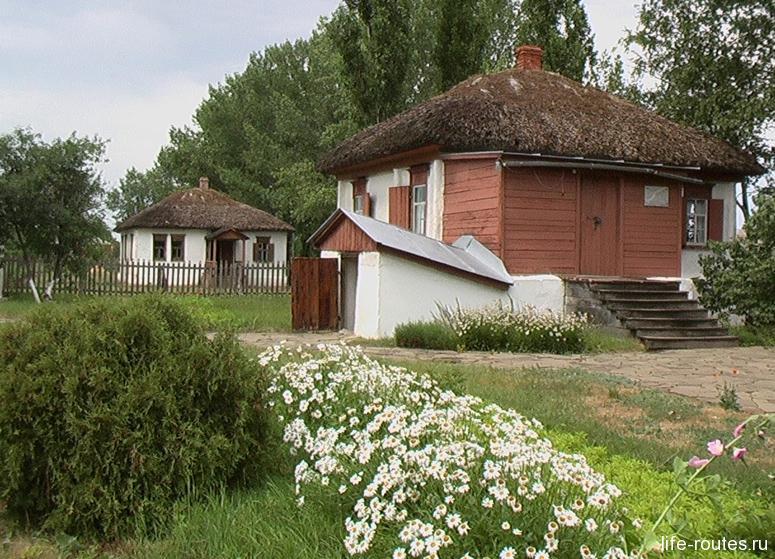 Дом, где родился М.А. Шолохов