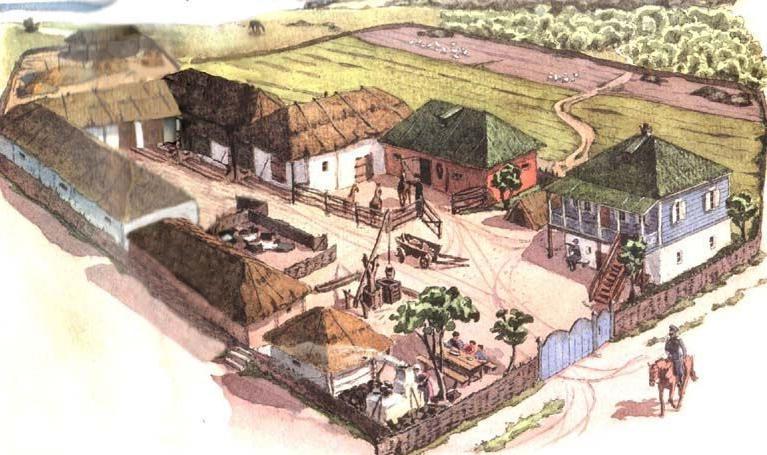 Казачий городок. XVII век