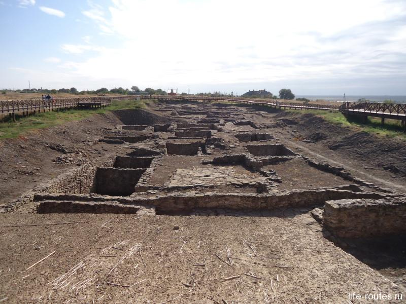 Археологические раскопки городища
