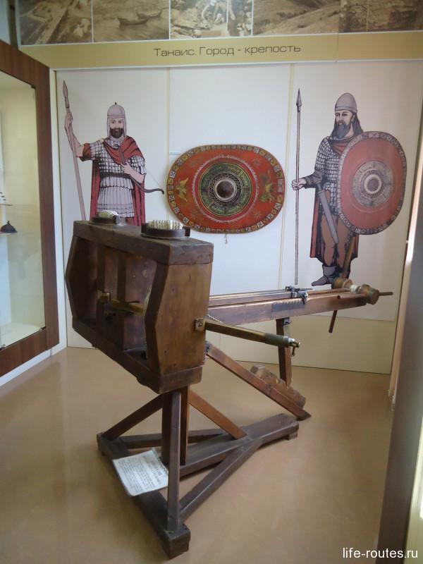 Евтихон - метательная установка времен античности
