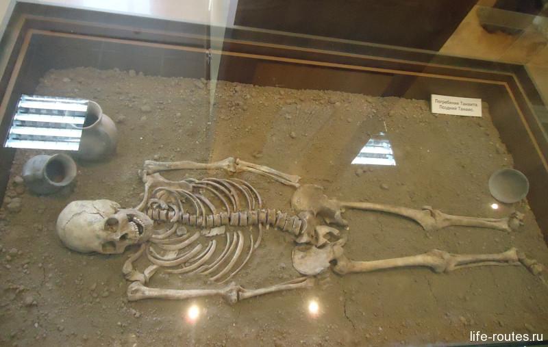 Погребение танаита