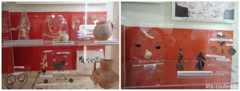 Археологические находки из погребений