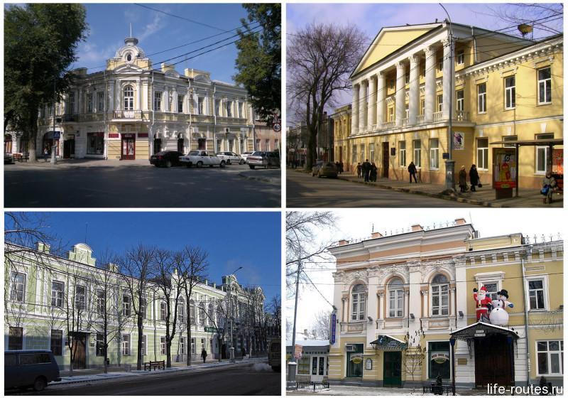 Особняки XIX века на Петровской