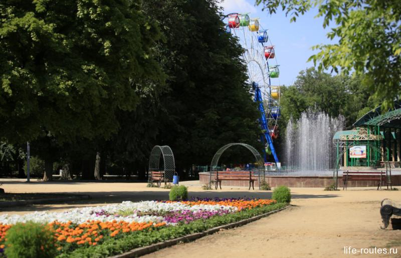 В парке Таганрога