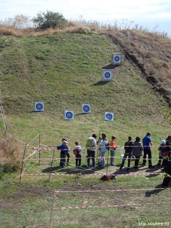 Олимпийские игры. Соревнования по стрельбе из лука