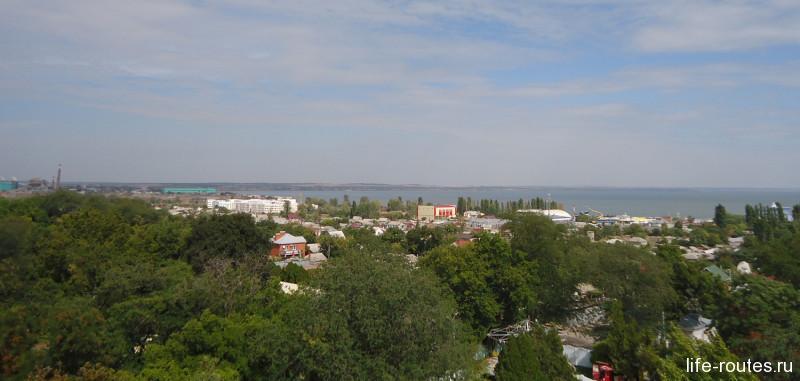 Вид на Таганрог
