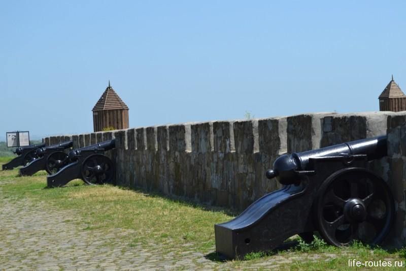 Валы крепости