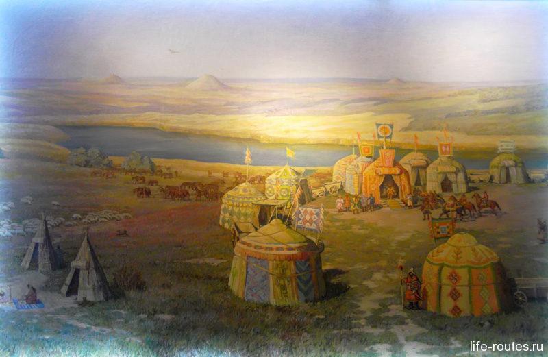 Жизнь и быт кочевых племен