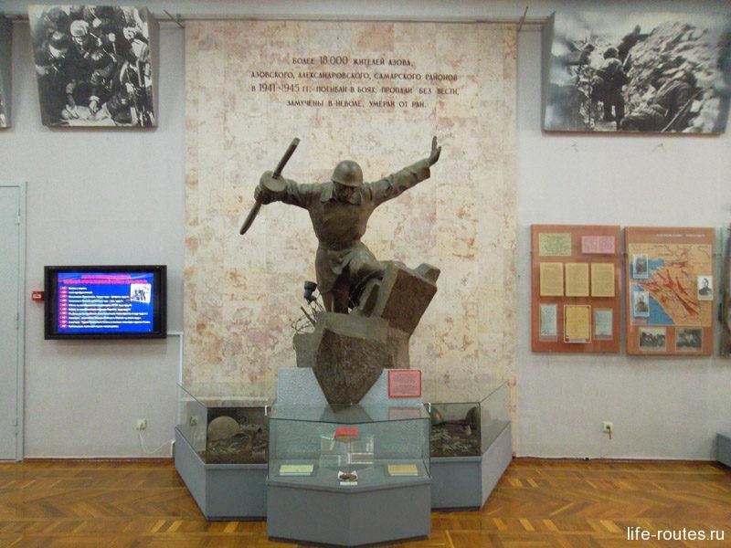 Азов в годы Великой Отечественной войны