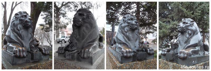 Сказочные львы
