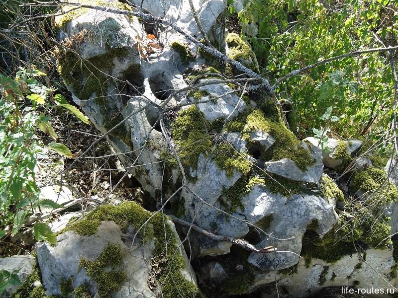 Камни как сыр