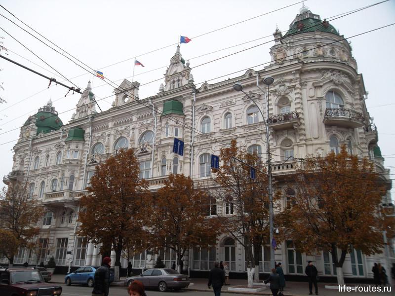 Здание Городской Думы (ныне администрация Ростова-на-Дону)