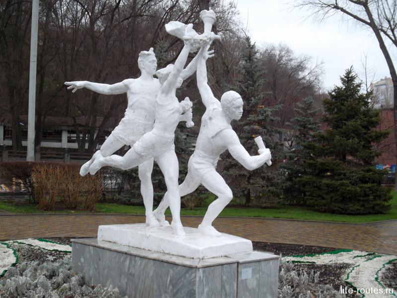 Пионеры-спортсмены