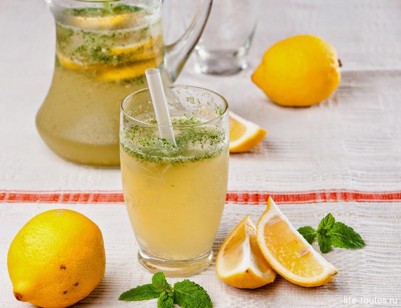Лимонада освежает даже в самый знойный день