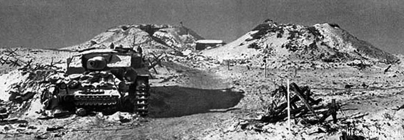 Мамаев курган во времена Великой Отечественной войны