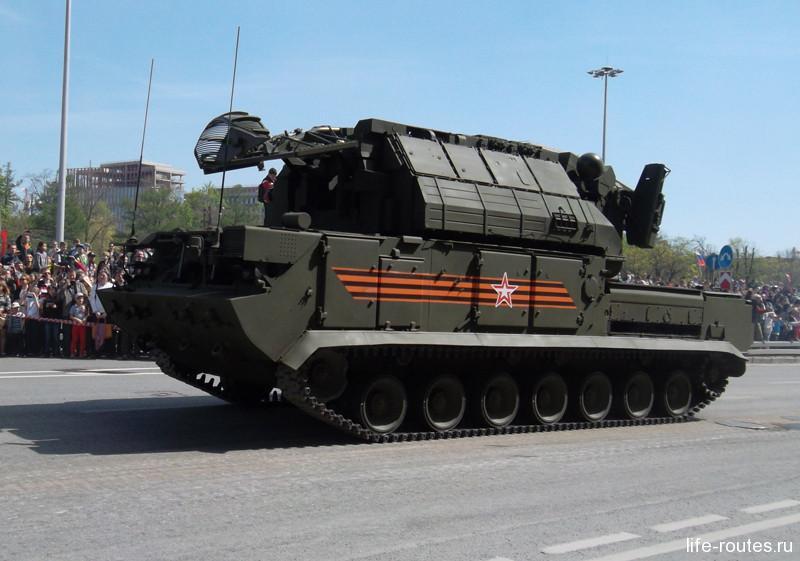 Зенитно-ракетный комплекс «Тор-М2У»