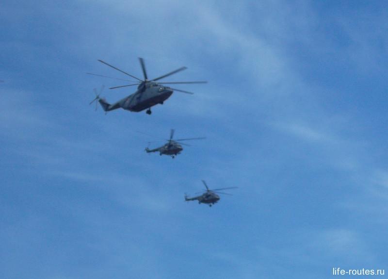 Вертолеты Ми-26 Ми-8 АМТШ