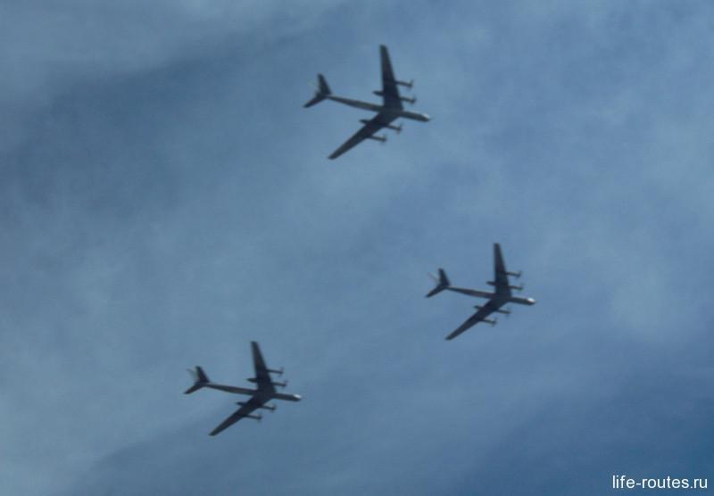 Турбовинтовые стратегические бомбардировщики Ту-95 МС