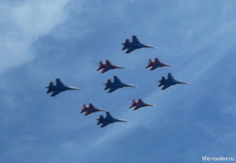 Кубинский бриллиант. Пилотажные группы «Русские витязи» и «Стрижи» на самолетах Су-27 и МиГ-29