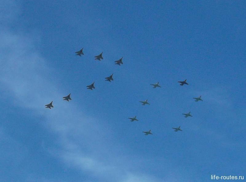 Военная авиация поздравляет с 70-летием Победы!