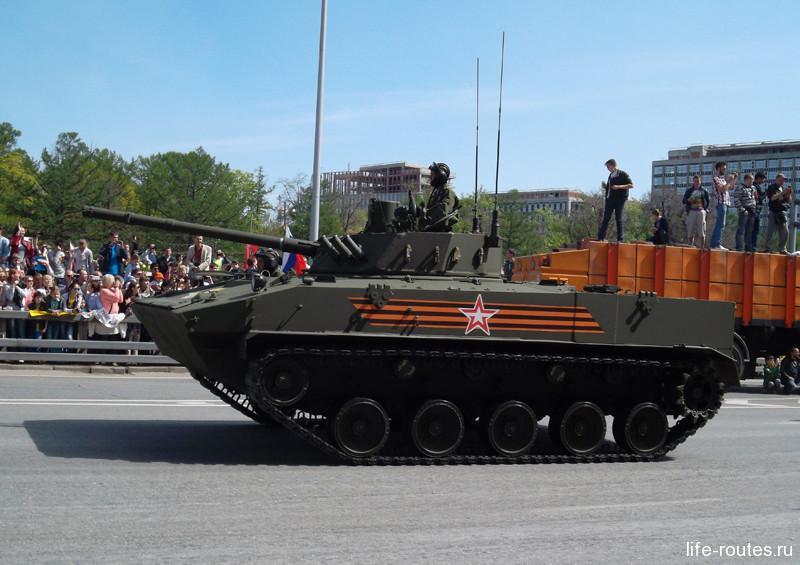 Модернизированный десантный бронетранспортер «Ракушка»