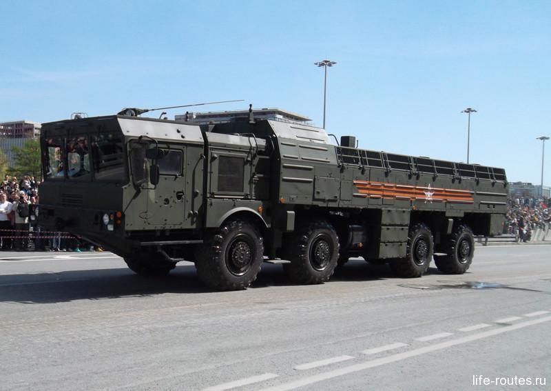 Ракетный дивизион «Искандер-Н»