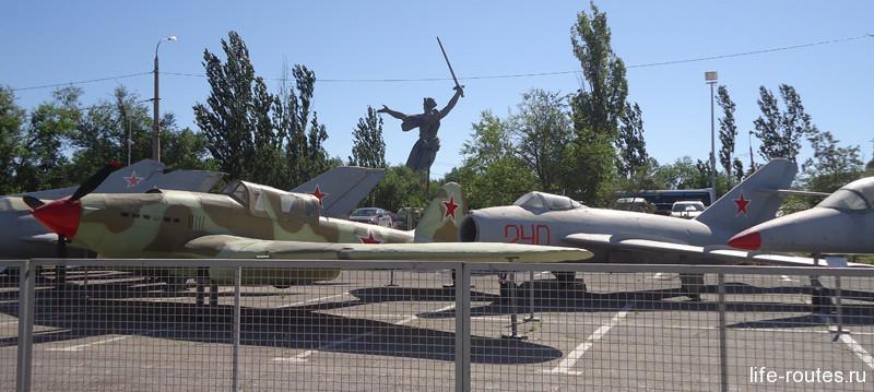Выставка боевой техники