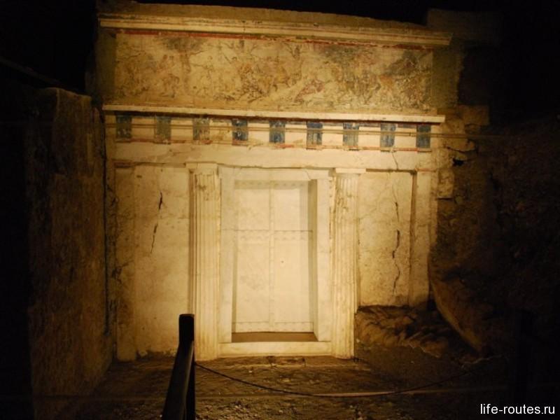 Гробница Филиппа, какой ее обнаружили археологи