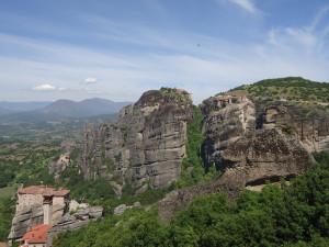 Поднебесные монастыри Метеоры в Греции