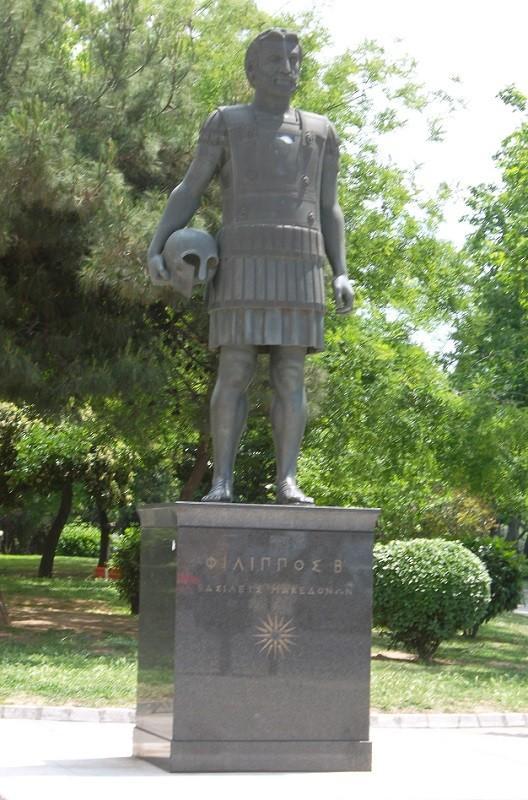 Памятник Филиппу II в Салониках