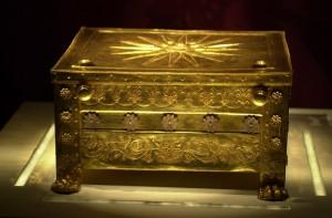 Прах базилевса Филиппа в золотом саркофаге
