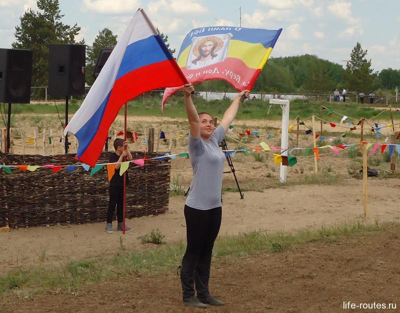 Самая зрелищная часть казачьего праздника