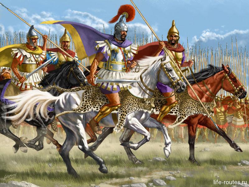 Филипп Македонский был доблестным воином