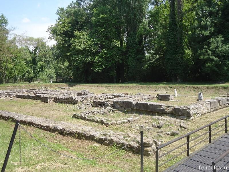 Святилище богини плодородия Деметры