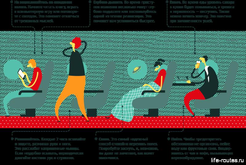 Чтобы перестать бояться летать на самолете, нужно заняться чем-нибудь!