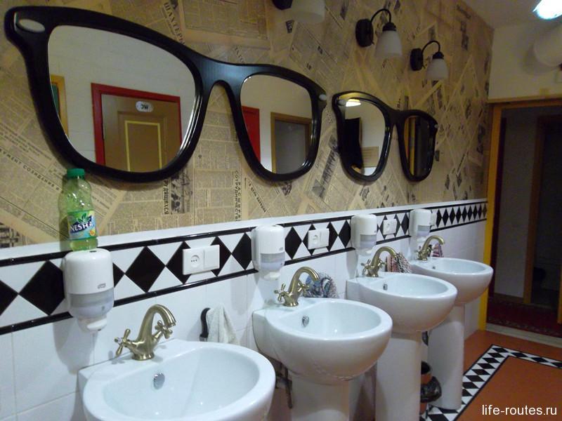 Очень понравились зеркала-очки