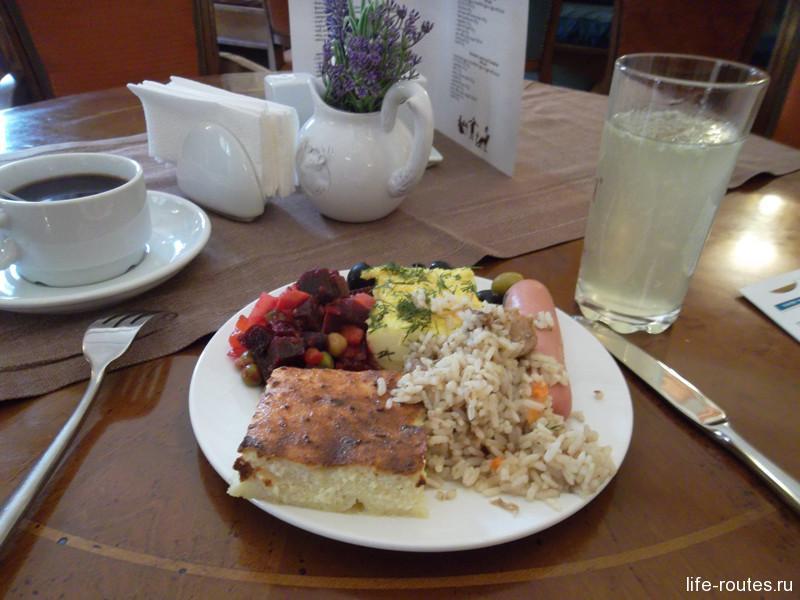 """""""Шведский"""" завтрак. Все сытно и вкусно"""