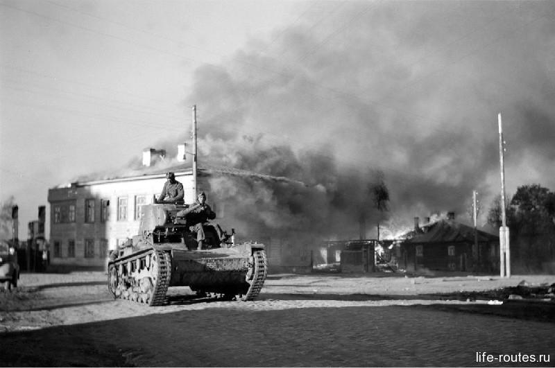 Во времена Великой Отечественной войны город был оккупирован финнами