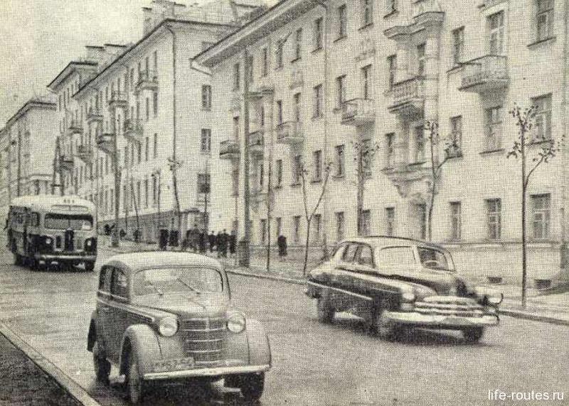 Послевоенный город Петрозаводск