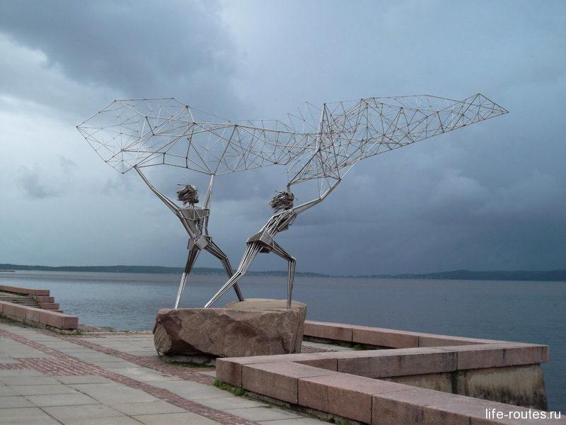 Рыбаки из Дулута - настоящая визитная карточка Петрозаводска