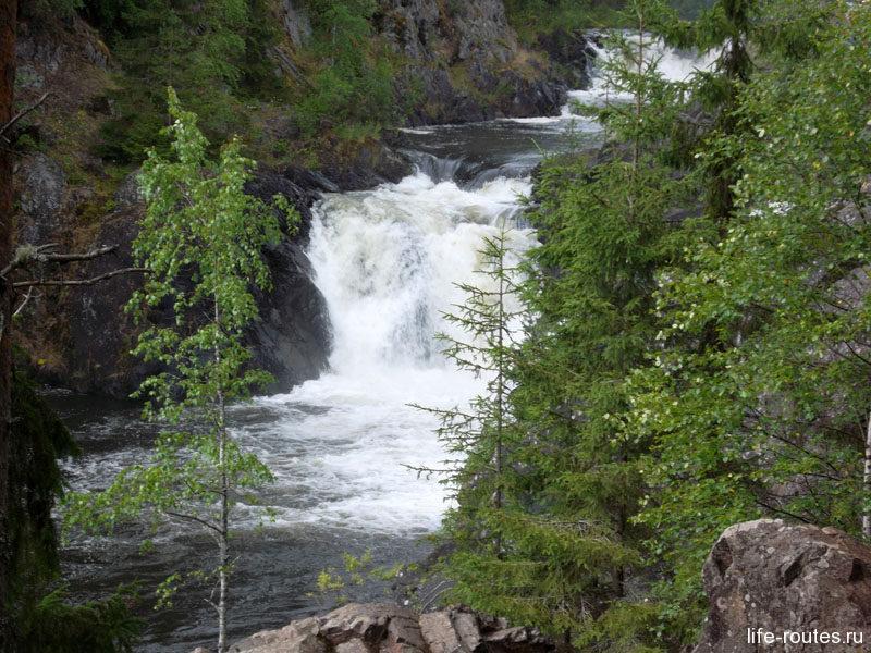 Что посмотреть в Карелии. Водопад Кивач