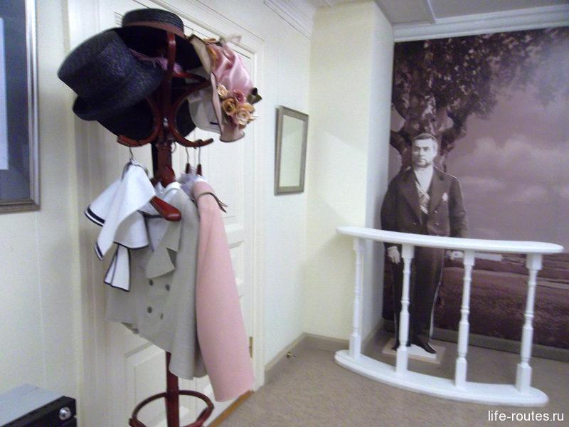 В фотосалоне конца XIX - начала ХХ века