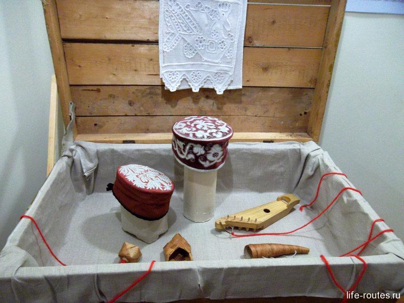 Интерактивный сундучок в национальном музее Карелии