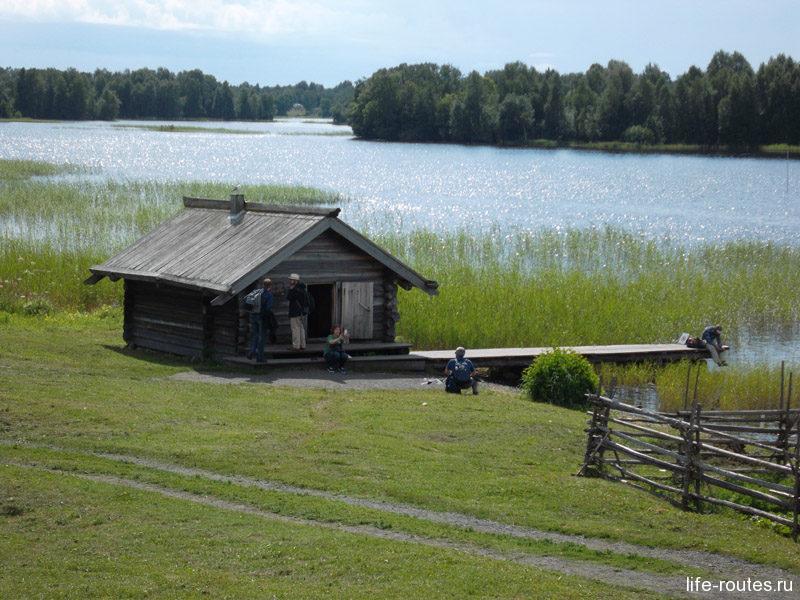 """Банька была в каждой семье. Строилась на берегу озера и топилась """"по-черному"""""""