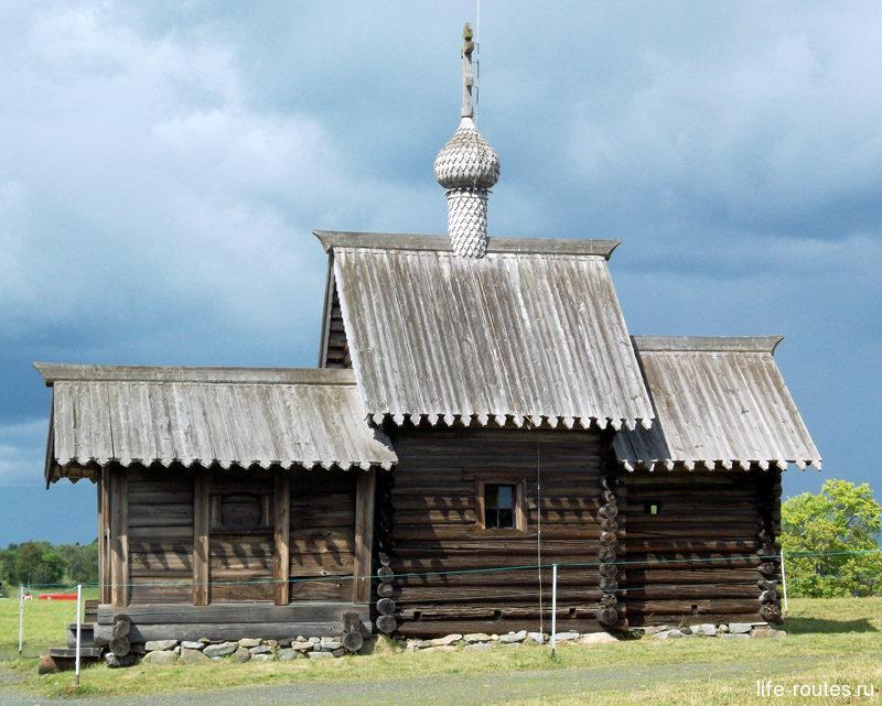 Самая старинная церковь на острове Кижи - церковь Воскрешения Лазаря