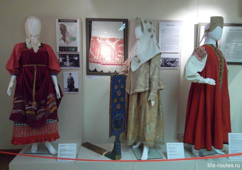 Национальные костюмы жителей деревень Прионежья