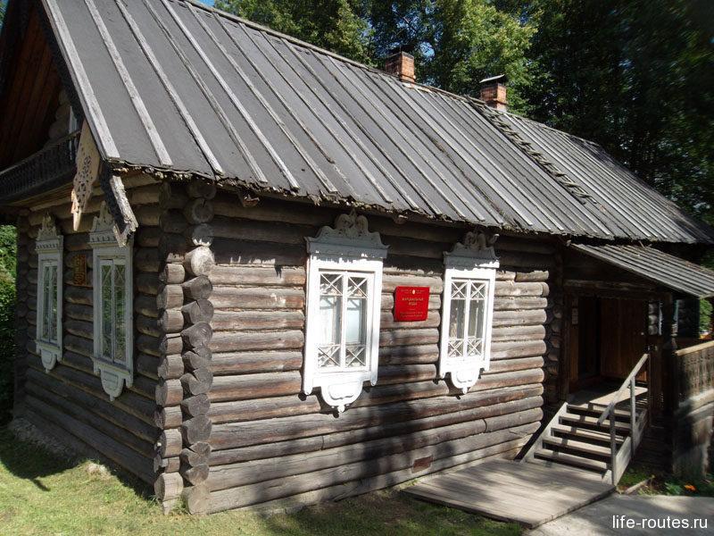 Здание музея в Марциальных водах